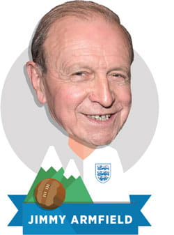 Illustration of Jimmy Armfield