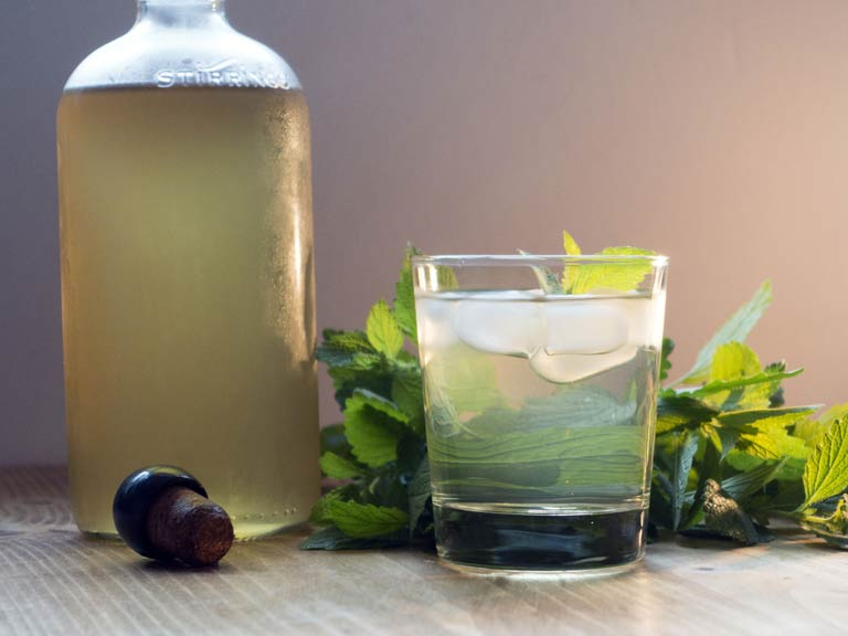 Mint cordial