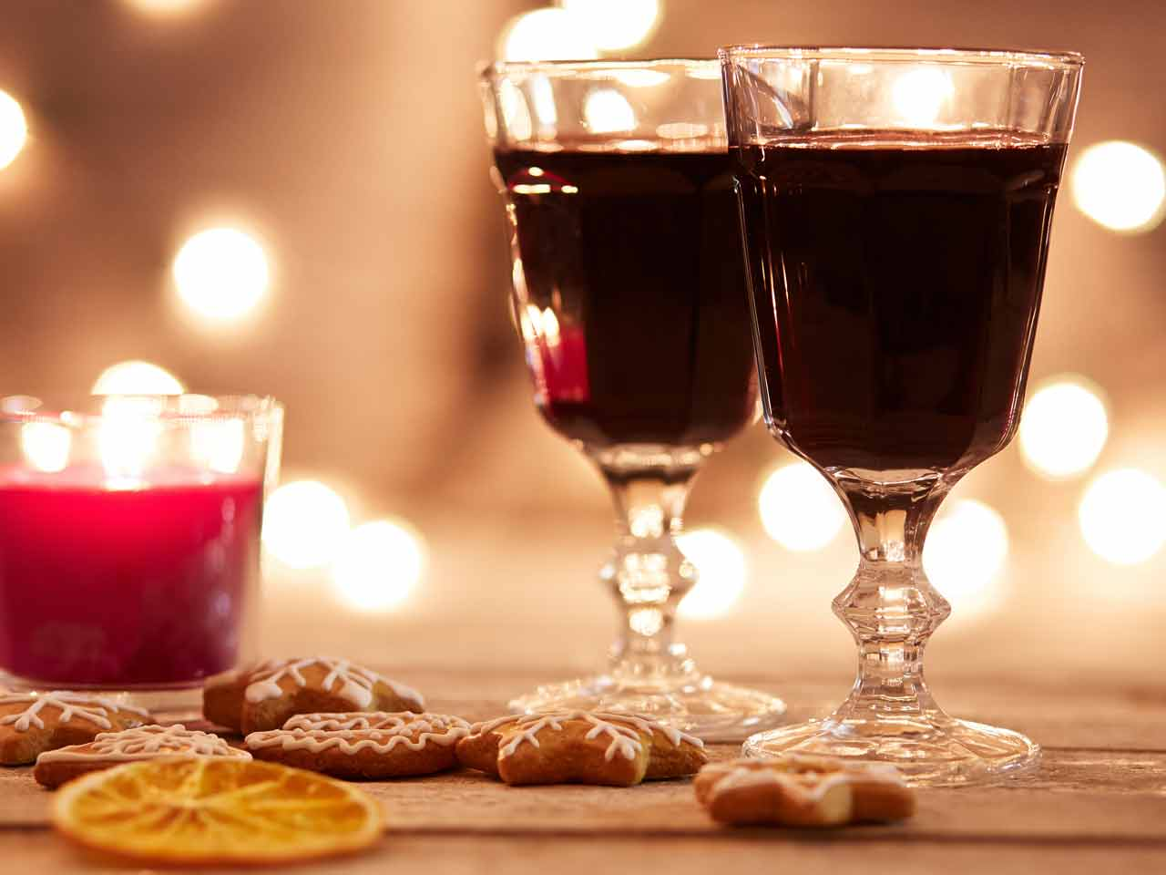 Glogg is a Scandinavian mulled wine with port and brandy