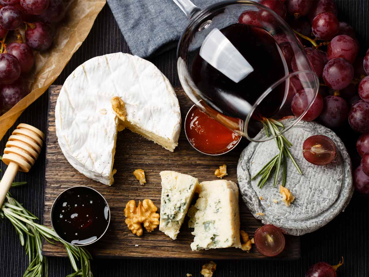 Pairing wine with the right cheese