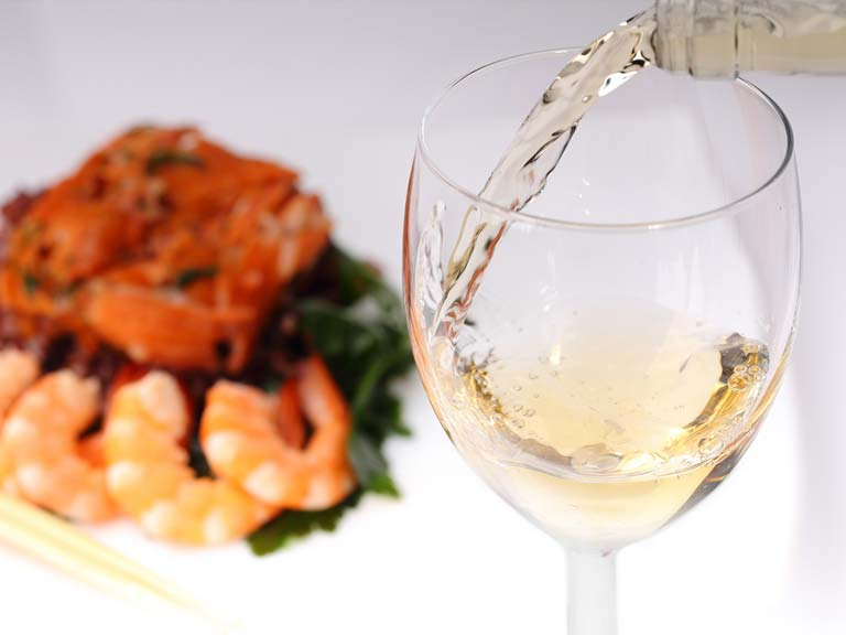 Falanghina and fish