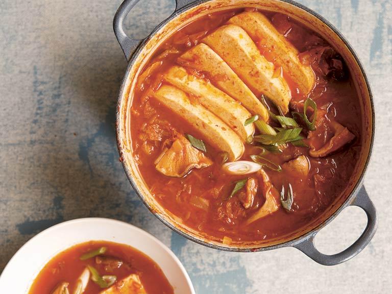 Kimchi Jjigae: Korean tofu stew