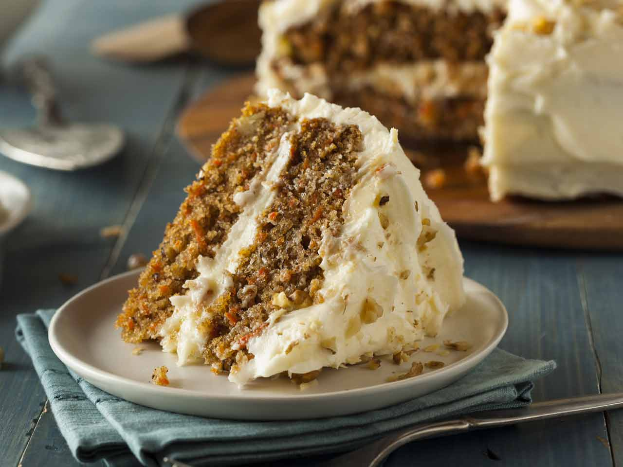 Carrot and honey cake