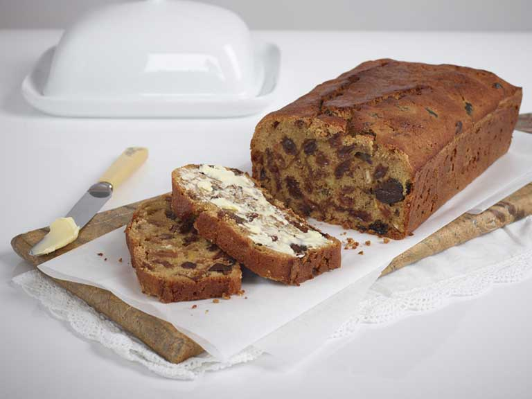Gluten-free Earl Grey fruit loaf