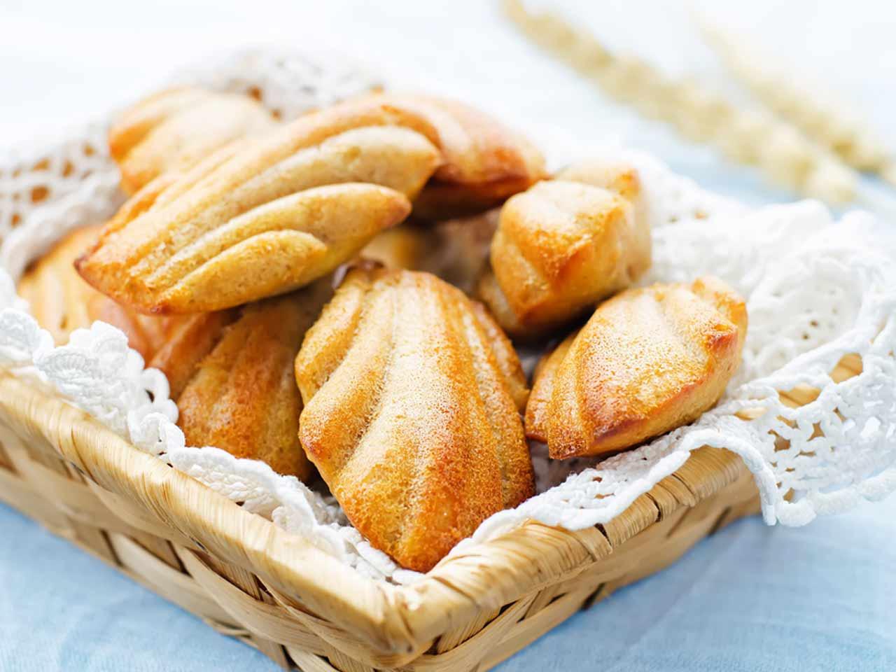 Madeleines Cakes Recipes