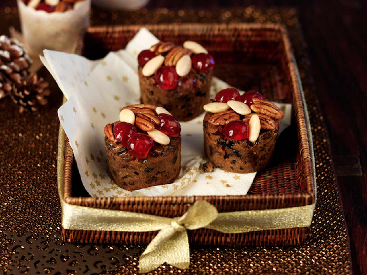 Small Christmas Cake Recipes Uk