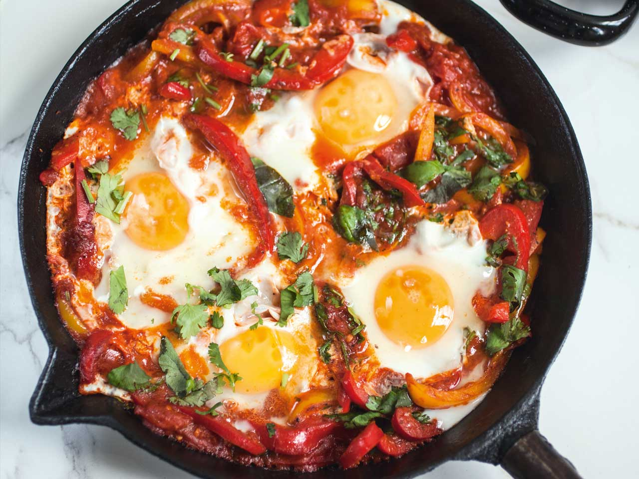 shakshuka breakfast eggs romantic tomatoes recipes food poached africa saga dish cooking magazine six
