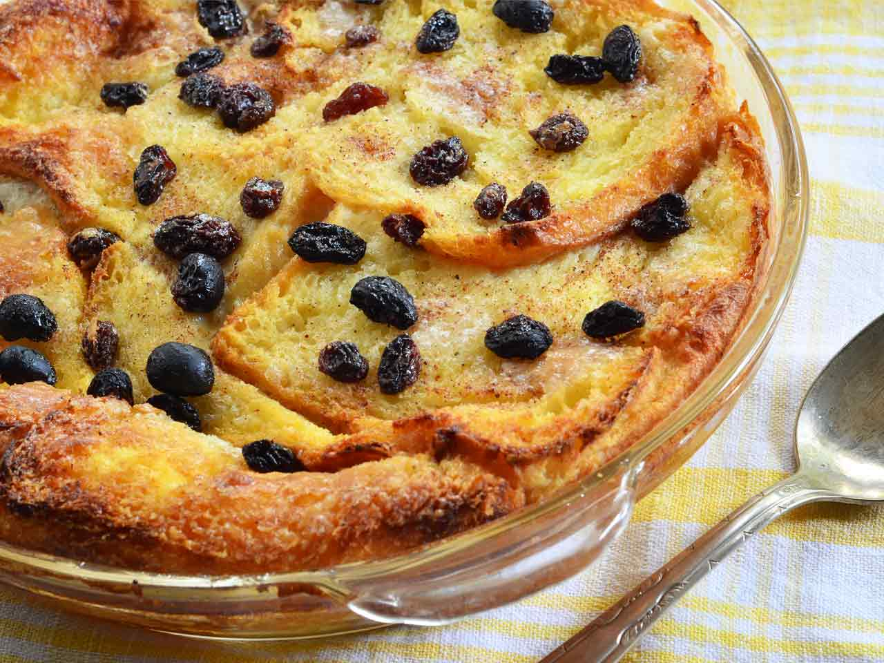 Bread and butter pudding - Saga