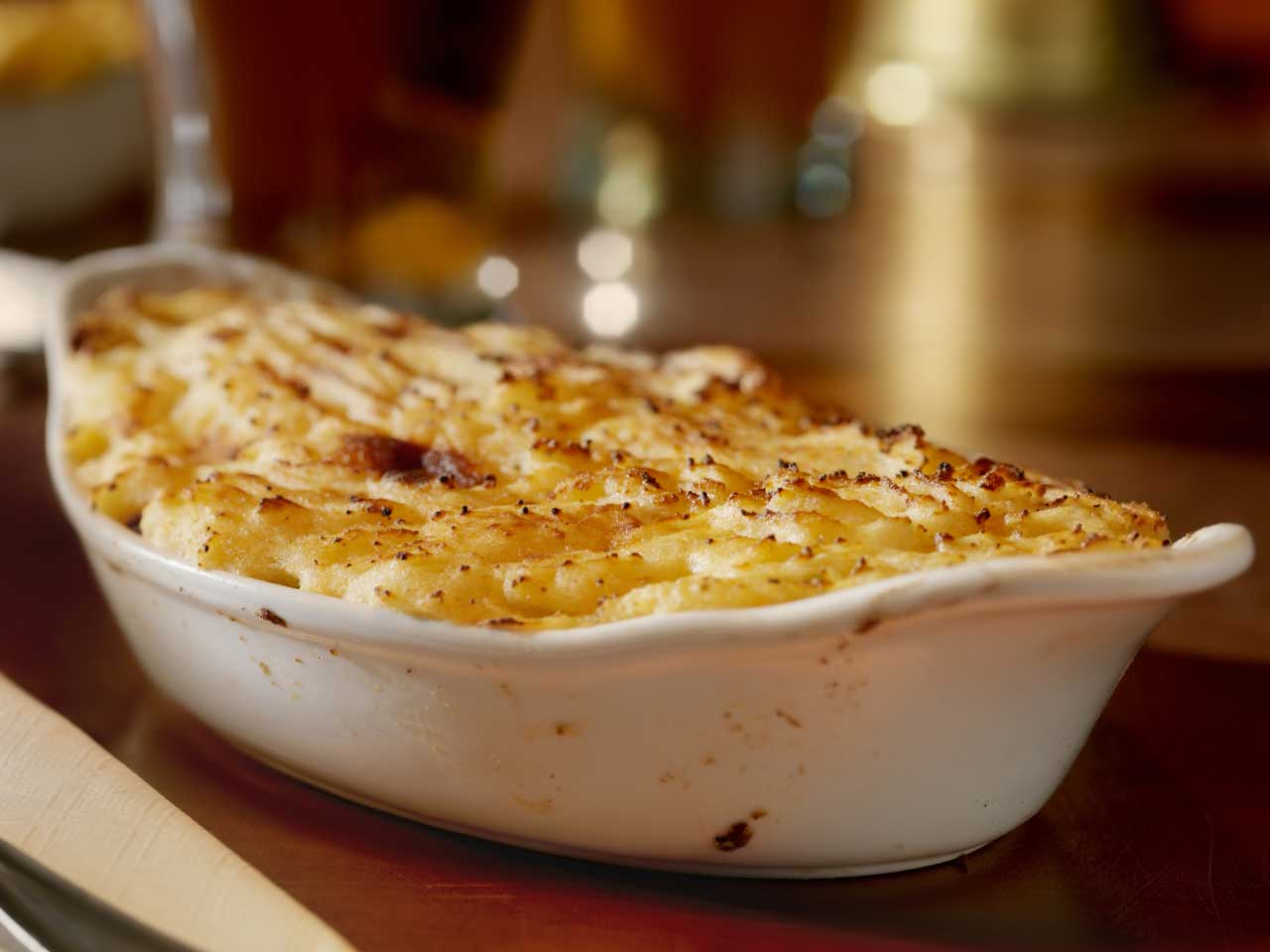 This spicy parsnip mash makes a delicious topping for shepherd's pie