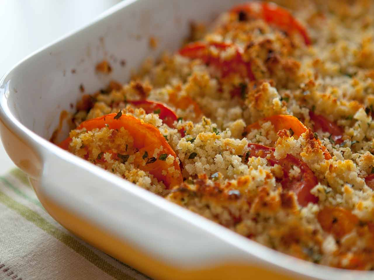 Tomato brown betty