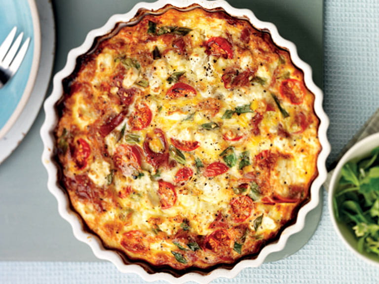 Forget the pastry quiche
