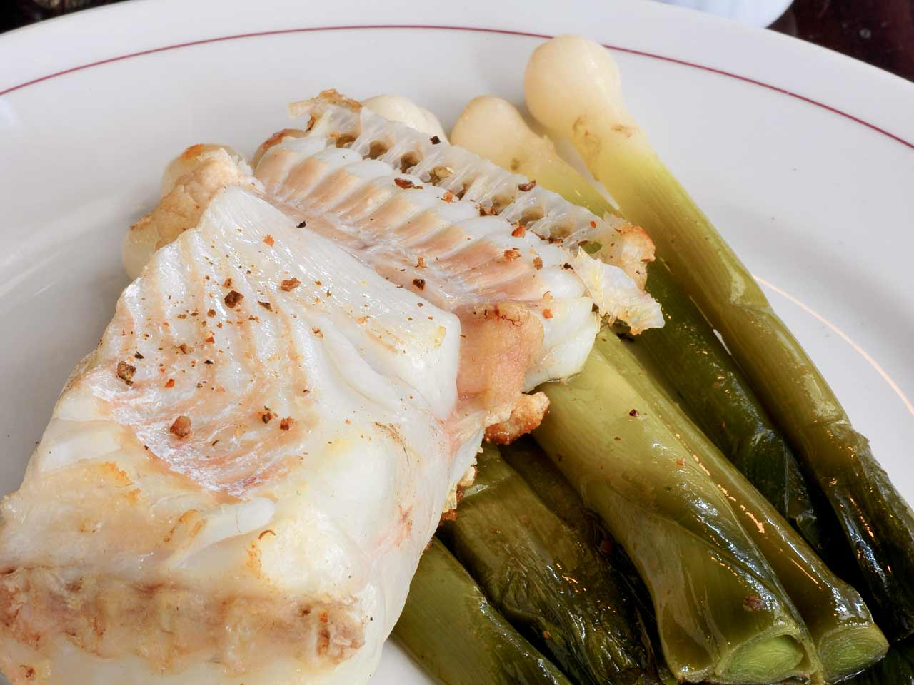 Pollock fillet with saut ed chanterelles saga for Pollock fish recipe