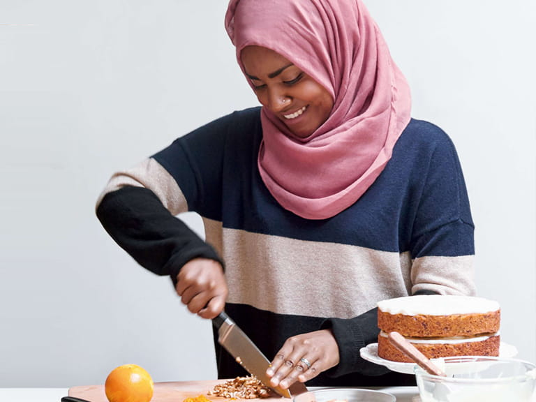 Nadiya Hussain's parsnip and orange spiced cake