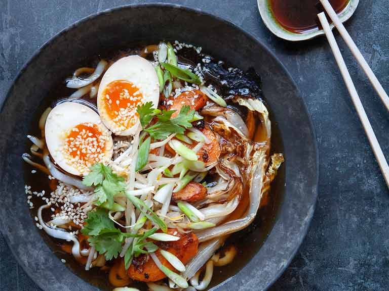 The Hairy Bikers' ramen