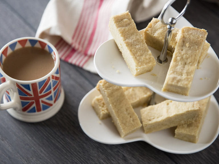 Classic shortbread biscuits