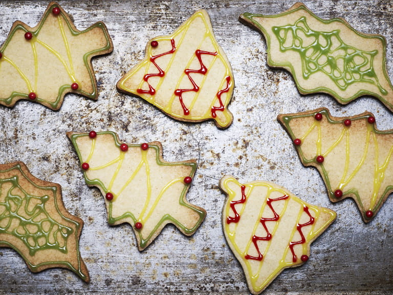 Easy Christmas biscuits