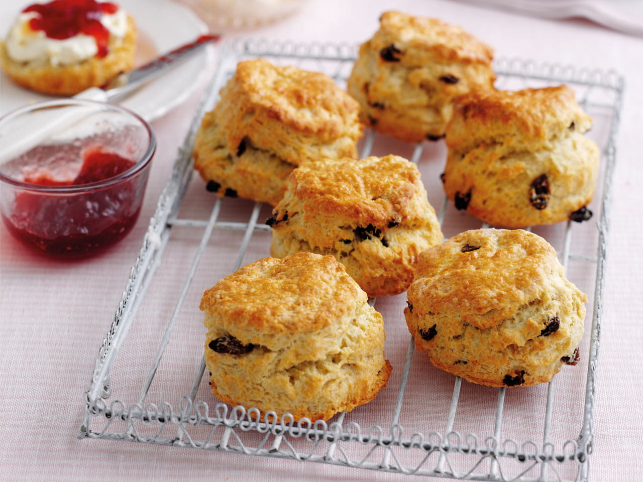 Mary Berry's classic fruit scones