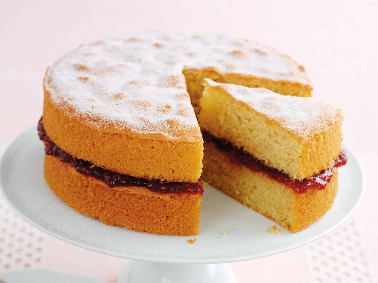 Easy Classic Sponge Cake Recipe