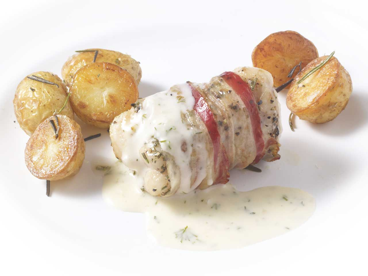 Herby monkfish