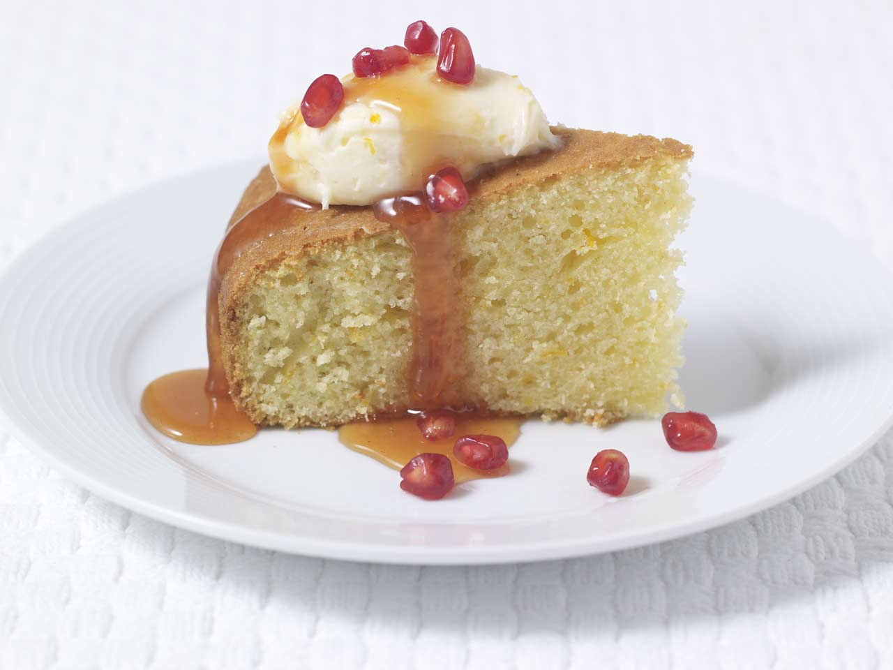 Quick-mix orange cake