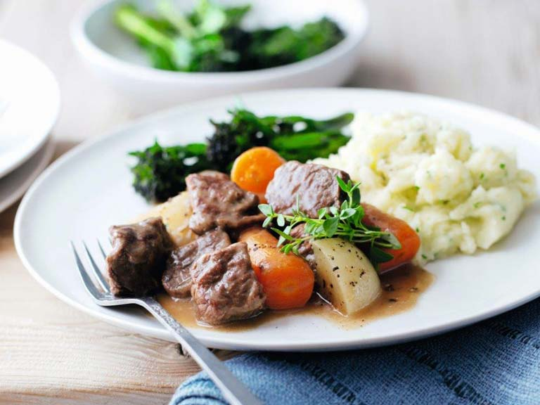 Braised beef with star anise