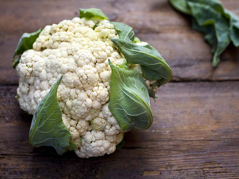 Cauliflower, used in watercress salad