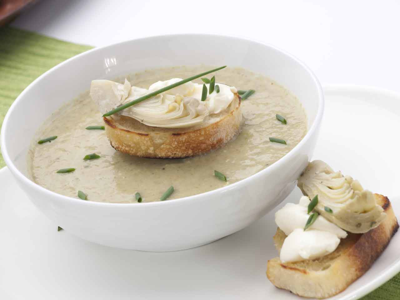 Cream of Jerusalem artichoke soup