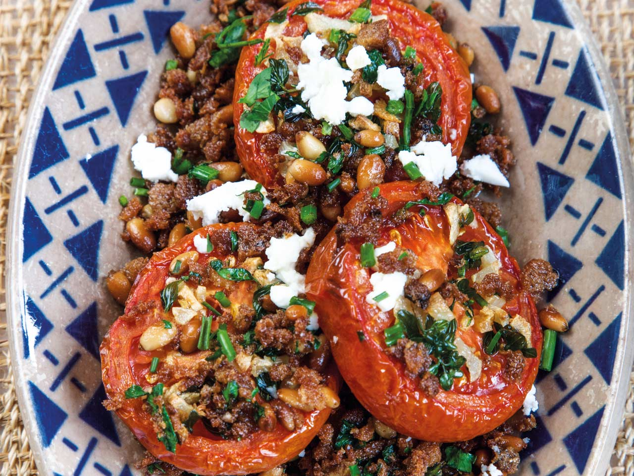 Tonia Buxton's slow-roasted tomato salad