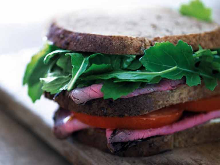 The Manwich: the perfect roast beef sandwich