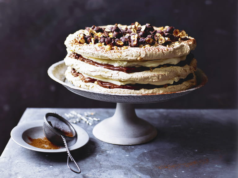 Sorted Food Chocolate Meringue Cake