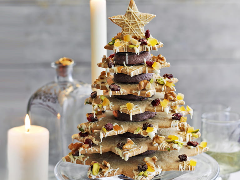 Heston Blumenthal's Christmas cookie tree