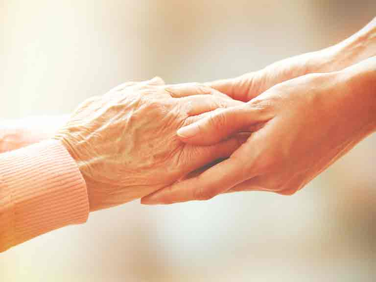 Caring for a relative