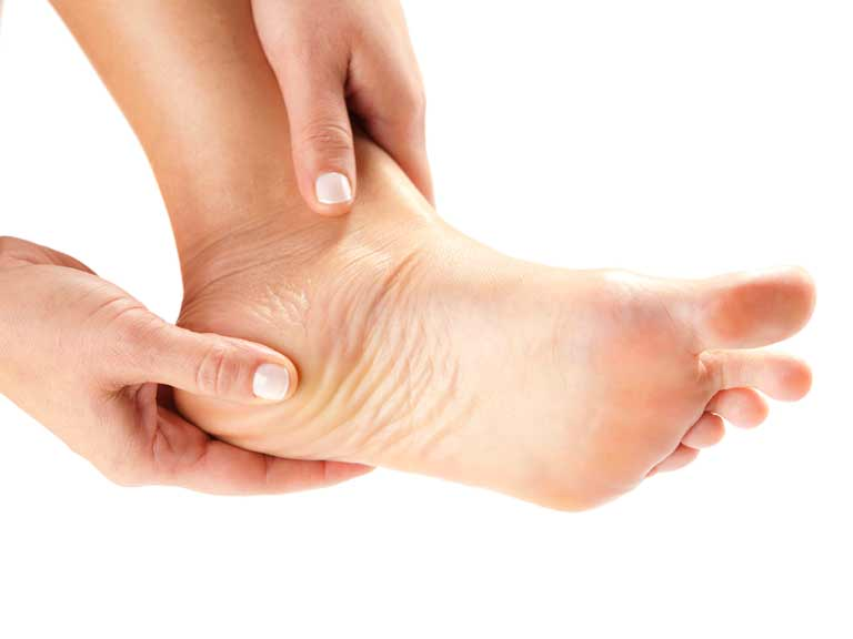 You can damage your plantar fascia to the point where it hurts to walk, simply by using your feet.