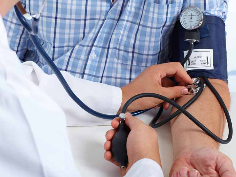 Peyronie's is associated with a number of underlying problems including raised blood pressure.