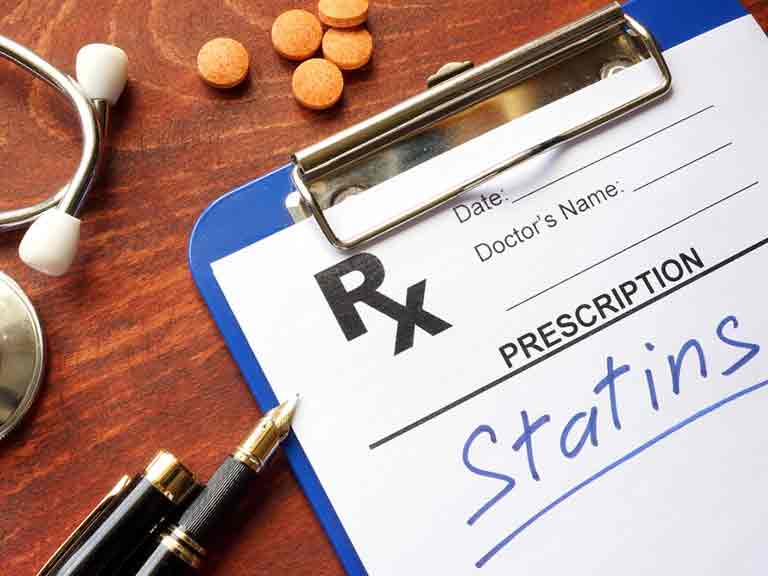 Statins can help irrespective of your cholesterol level as they stabilise deposits in arterial walls too.