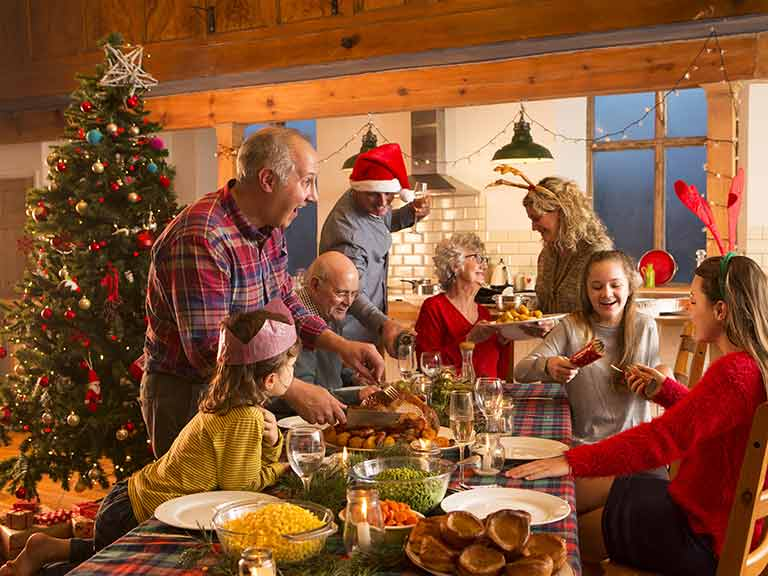 Christmas is a great time to catch up with all the generations of the family