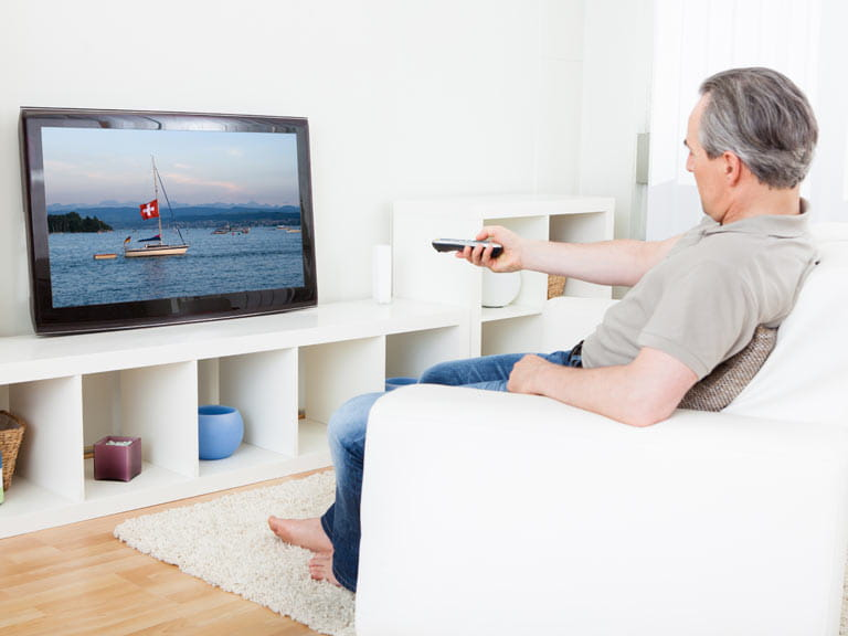 Needing to turn the TV or radio up could be an early sign of hearing loss