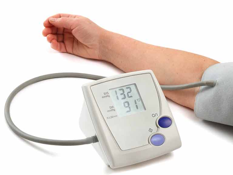 Home monitoring kit for blood pressure