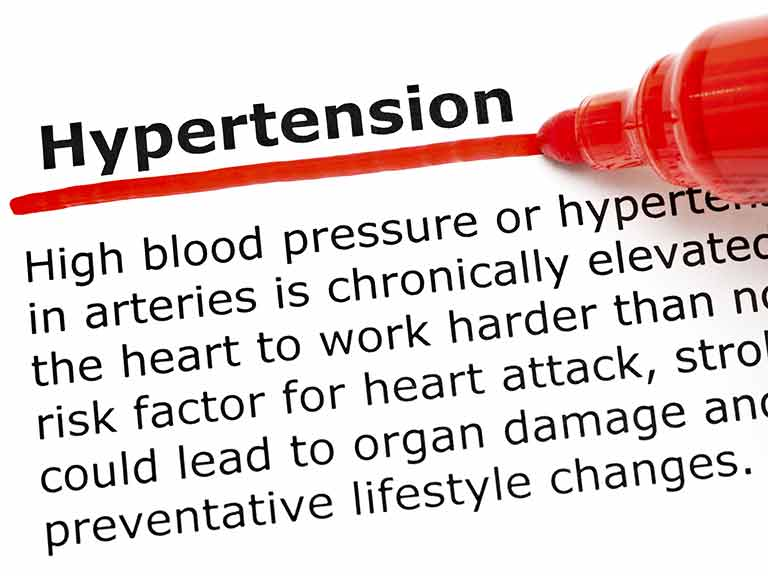 How hypertension or high blood pressure damages health