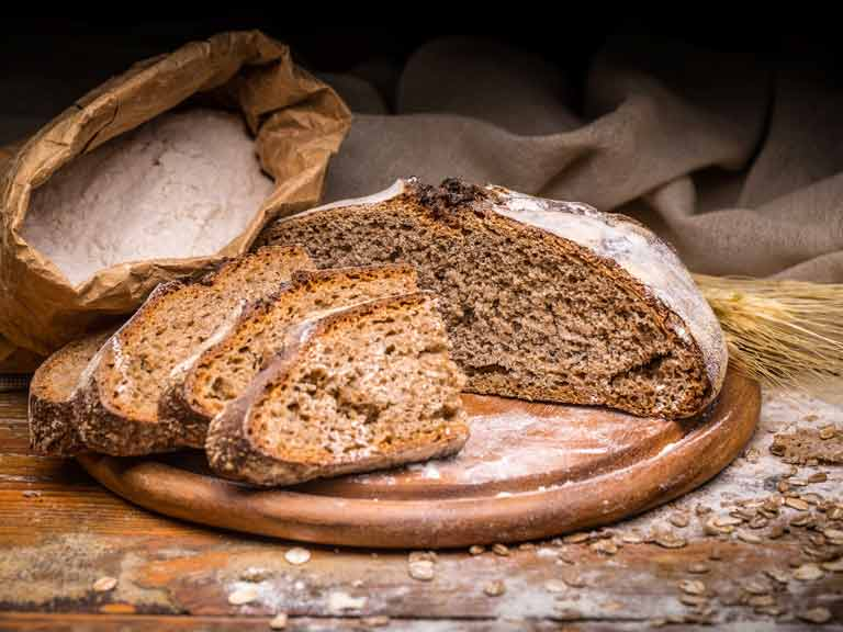 Try breads made from a variety of different grains