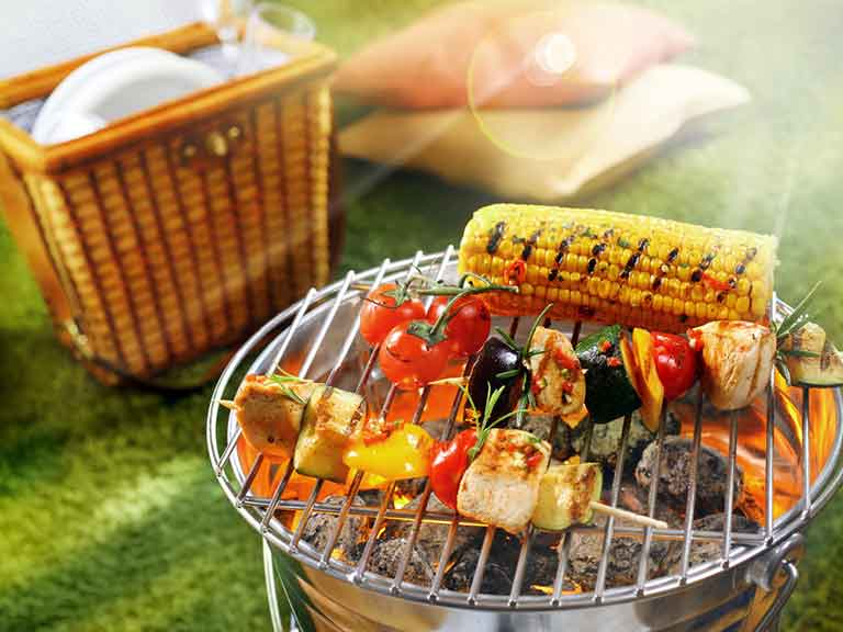 Healthy barbecue options