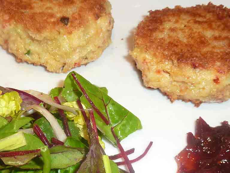 Judith Wills crab cakes