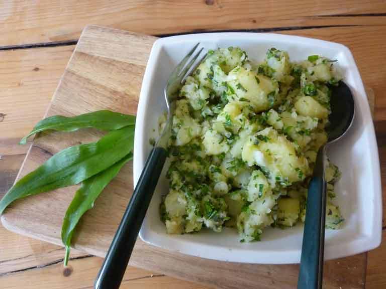 Judith's herb potato salad