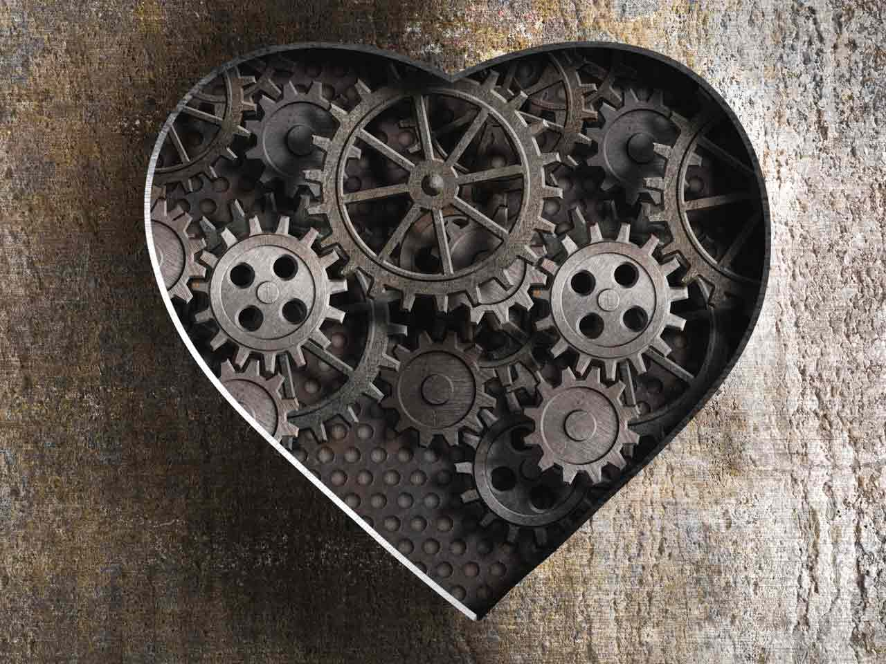 Ageing cogs in a heart