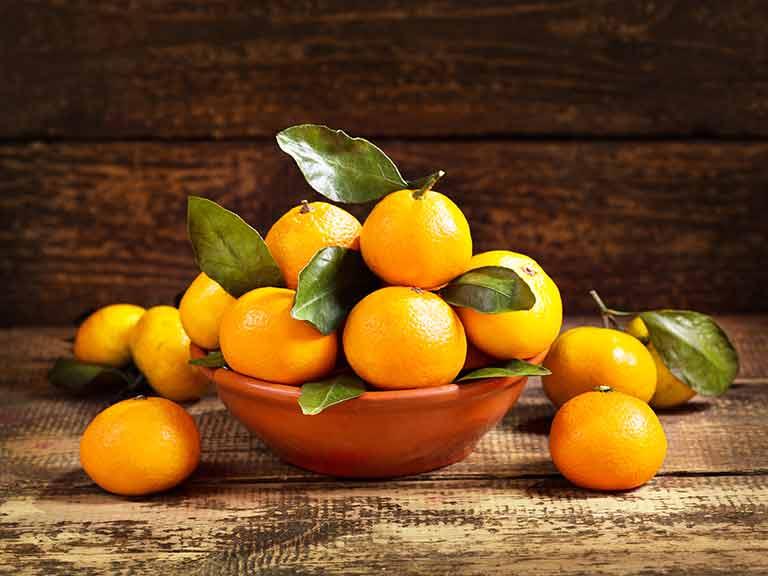 beschimmeld fruit gegeten