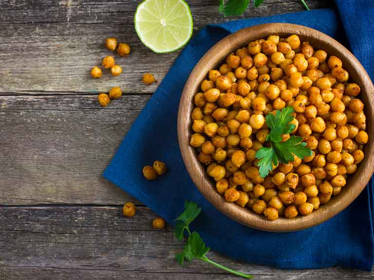 Chickpeas boast an extremely low GI index.