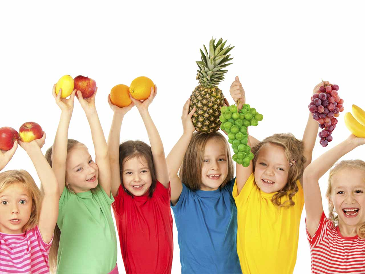 Tips on how to get children eating more healthily