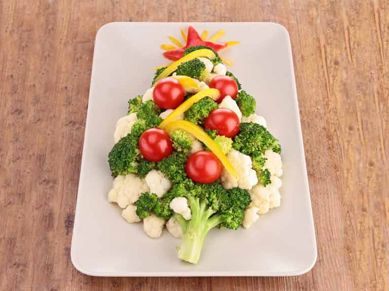 Healthy Christmas veg