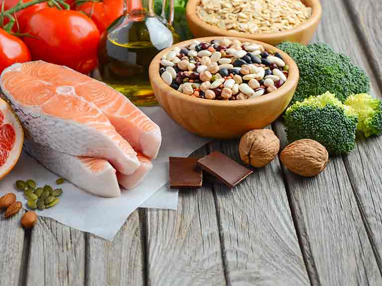Healthy Mediterranean foods for prostate health