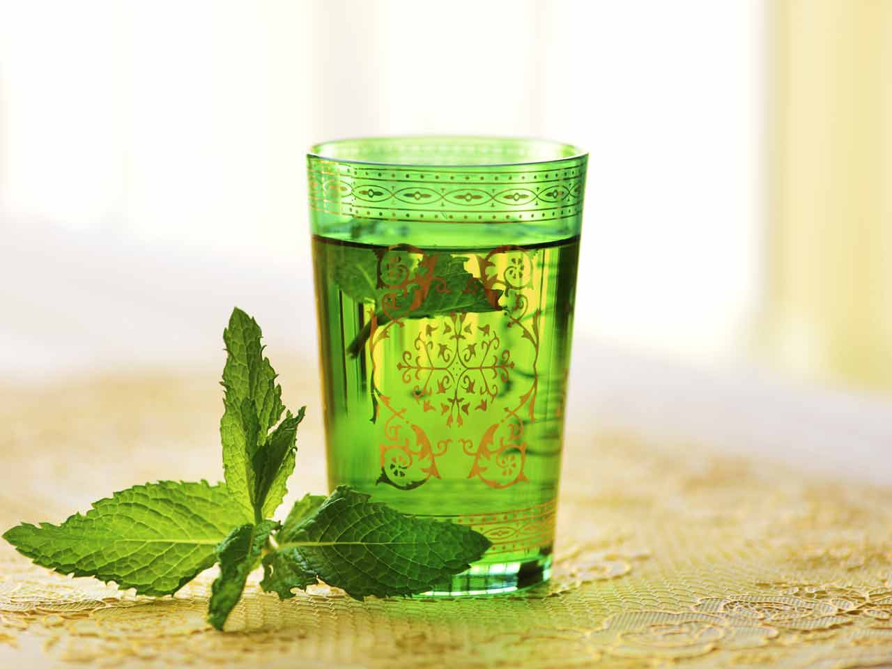Mint tea may help alertness